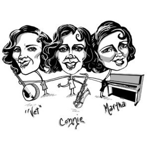 Caricature of the Boswell Sisters