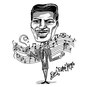 Caricature of Earl Hines