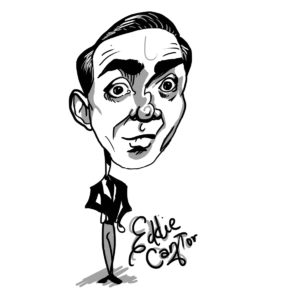 Caricature of Eddie Cantor