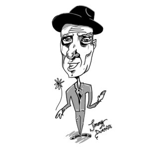 Caricature of Jimmy Durante