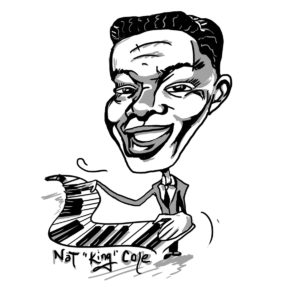 "Caricature of Nat ""King"" Cole"