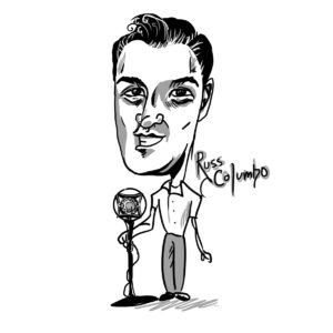 Caricature of Russ Columbo