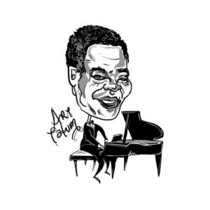 Caricature of Art Tatum