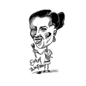 Caricature of Ethel Waters